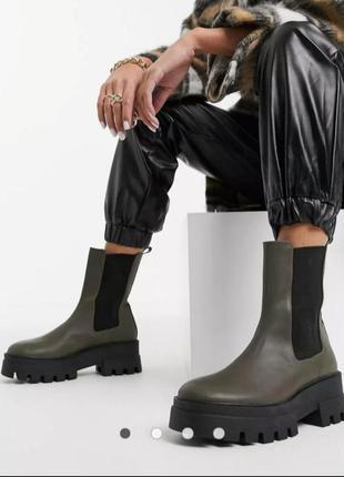 Массивные ботинки pull& bear