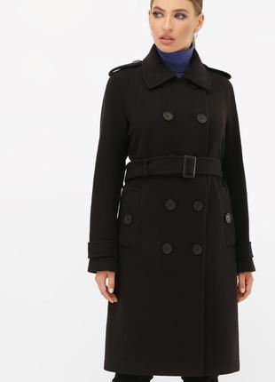 Модно кашемировое пальто