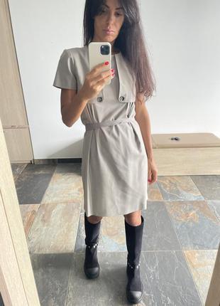 Платье burberry, размер s, шерсть