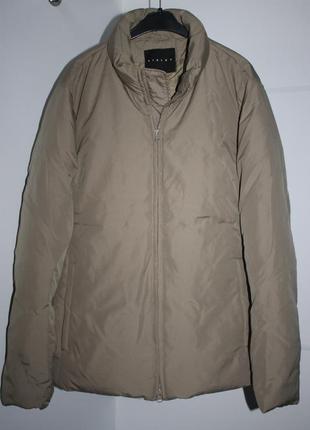 Укороченный пуховик, куртка sisley, 50% пух/ 50% перо