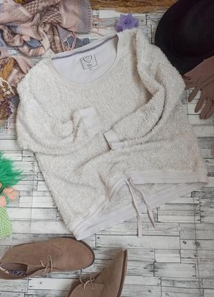Меховой плюшевый свитшот кофта оверсайз для дома boux avenue