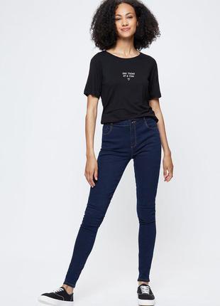 Темно сині джинси від dorothy perkins skinny denim р.14