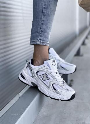 Кроссовки new balance 530 silver кросівки