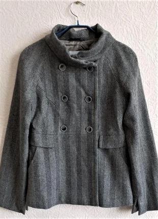 Укороченное шерстяное пальто lady charmante