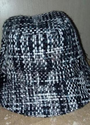 Буклированная шляпа -панама