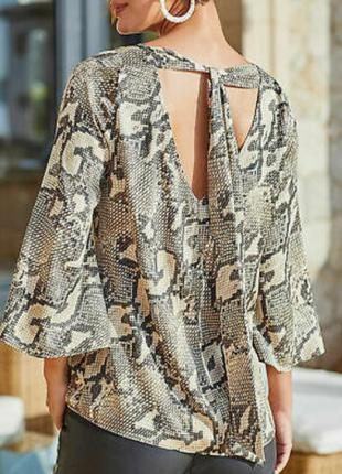 Стильная блуза очень большой размер