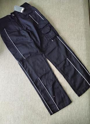 Плотні котонові штани