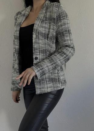 Твидовый пиджак, жакет, куртка