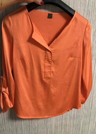 Обалденная коралловая блуза