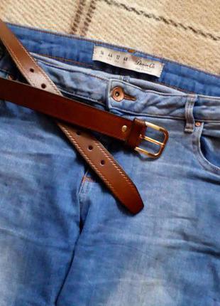 Актуальные джинсы denim&co с рваностями