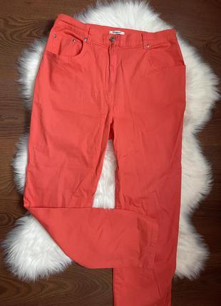 Сток как новые котоновые штаны джинсы от damart uk 14 цвет тренд сезона