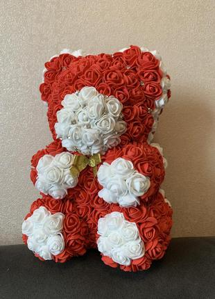Ведмедик з троянд ( мишка из роз) ручна робота