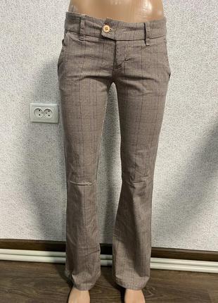 Класичні штани /брюки в клітинку