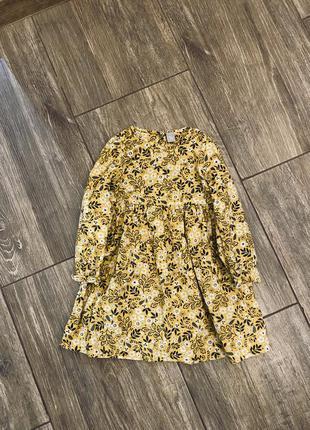 Котонове вільветове плаття tu 3/4 yrs 98-104 cm