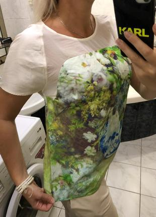 Блузка футболка , в стиле клод моне by malene birger