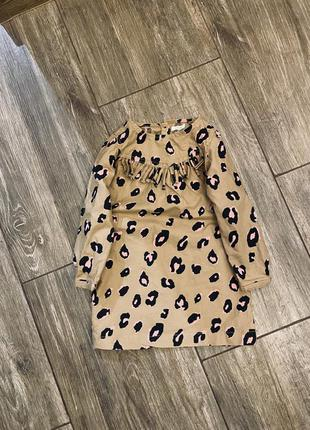 Котонове плаття next 3/4 yrs 104 cm