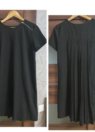 Шик необычное платье спина плиссе
