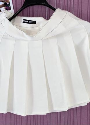 Теннисная юбка shein