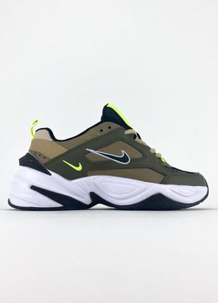 Nike m2k tekno green white наложенный платеж