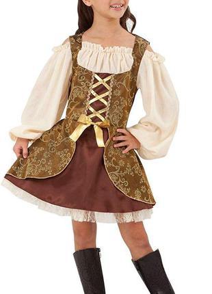 Пиратка 9-11 лет костюм карнавальный