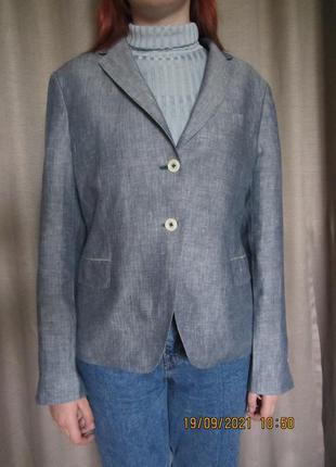 Льняний піджак gant