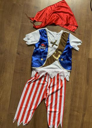 Пират 4-6 лет костюм карнавальный