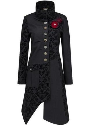 Легкое, ассиметричное пальто, большой размер