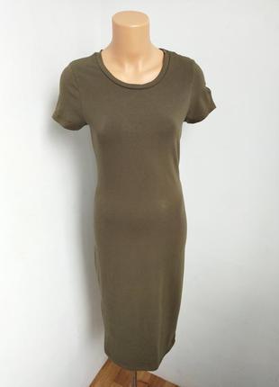 Базовое платье футболка.