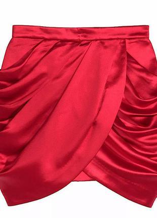 Шёлковая юбка balmain x h&m