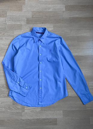 Ralph lauren голубая рубашка