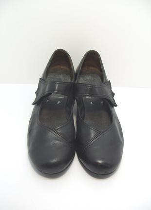 Женские кожаные туфли semler р. 41