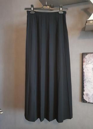 Дизайнерская длинная юбка в складку от klaus thierschmidt