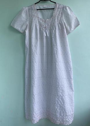 Ночнушка ночная рубашка прошва damart