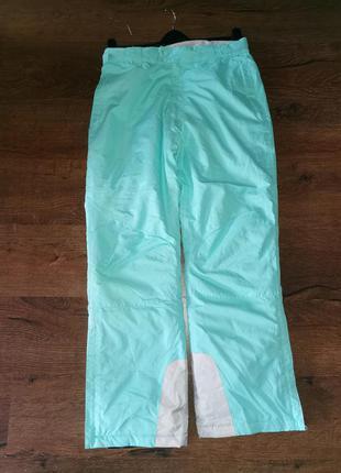 Штаны  брюки термо зимние лыжные