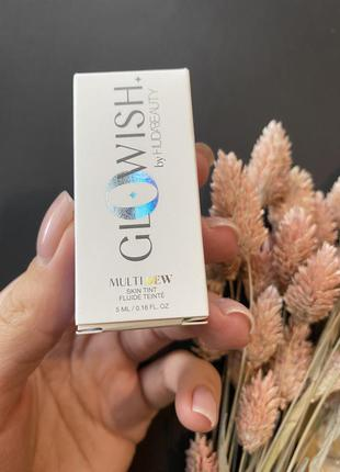 Huda beauty glowish multidew skin tint тонирующее средство-тинт для кожи