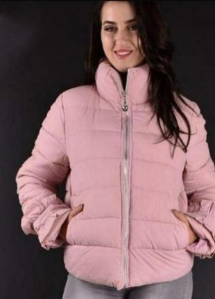 Женская куртка  🌿🍂идеально на осень и евро зиму