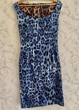 Платье шёлк dolce & gabbana , италия р.40. отличное состояние