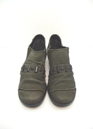 Утепленные кожаные ботинки rieker р. 37