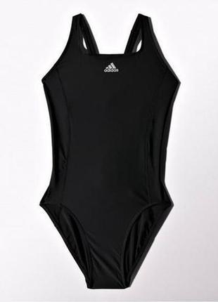 Спортивный сдельный слитный цельный купальник adidas