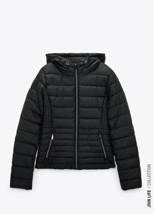 Куртка zara, осенняя утепленная зара, осіння