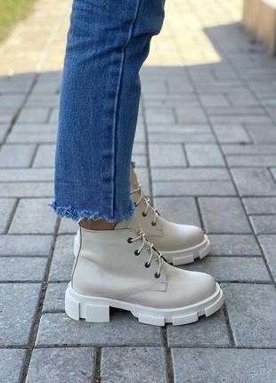 Ботинки bona натуральная кожа