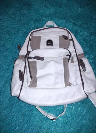 Белый рюкзак hernan