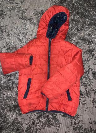 Двосторонна куртка на хлопчика/двухсторонняя курточка на мальчика