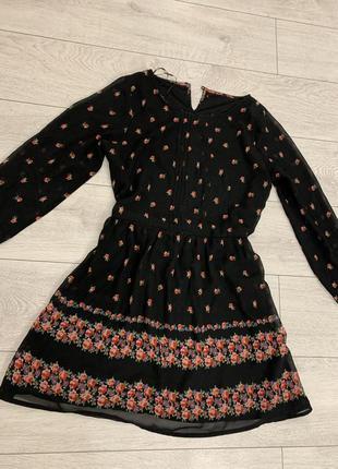 Осеннее платье на подкладке