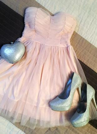 Фатиновое платье tally weill