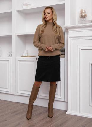 Casual вельветовая юбка