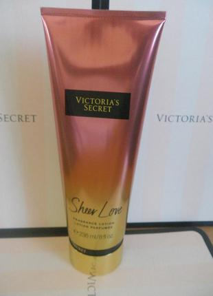 Sheer love victorias secret увлажняющий лосьон для тела 236 мл