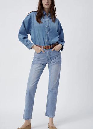 Джинсы zara truth slim jeans