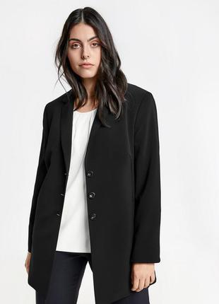 Удлиненный пиджак оверсайз gerry weber , 100 % шерсть