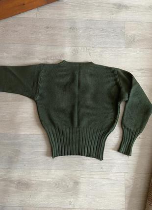 Свитер базовый, тёплый свитер, джемпер вязаный, кофта тёплая беж